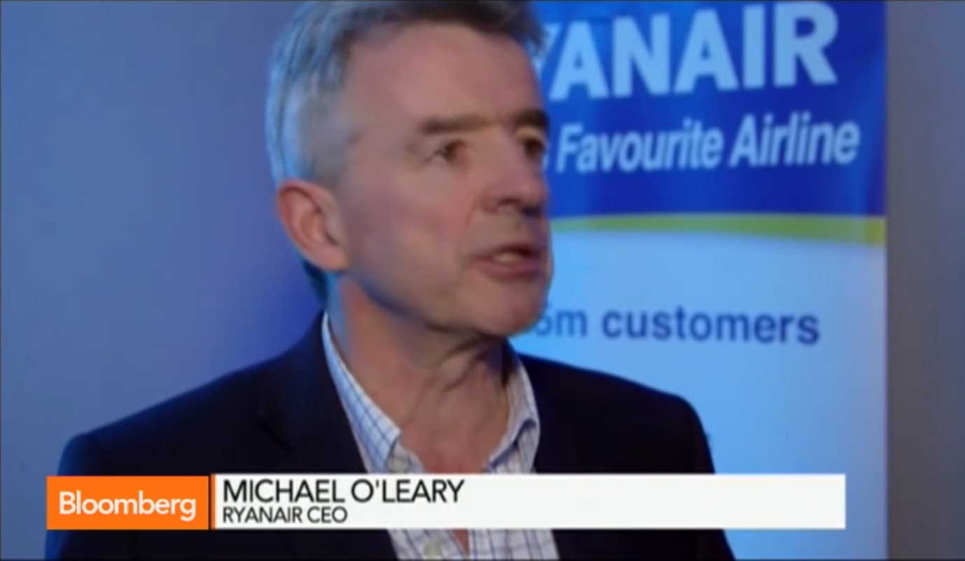 How Ryanair CEO Plans to Revamp the Airline