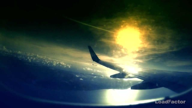 Curacao take off at sunset –  GoPro Hero 3
