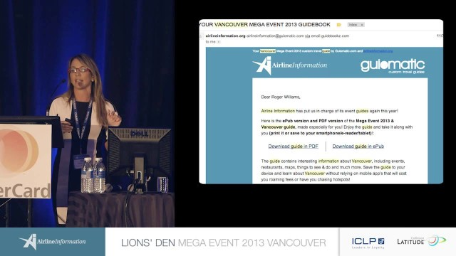 Guiomatic – Lions' Den Mega Event 2013 – Vancouver