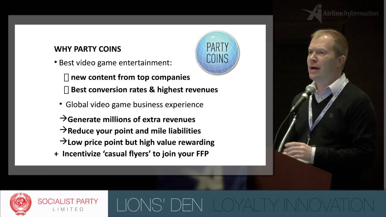 LIONS' DEN – Socialist Party Ltd. – FFP Spring Event 2013