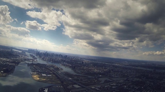 Takeoff over NYC