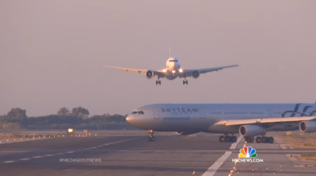 Near-Miss Between Jets at Barcelona Airport