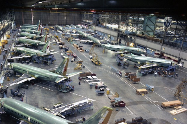 Boeing To Raise Monthly Production Of 737 Planes To 52 In 2018