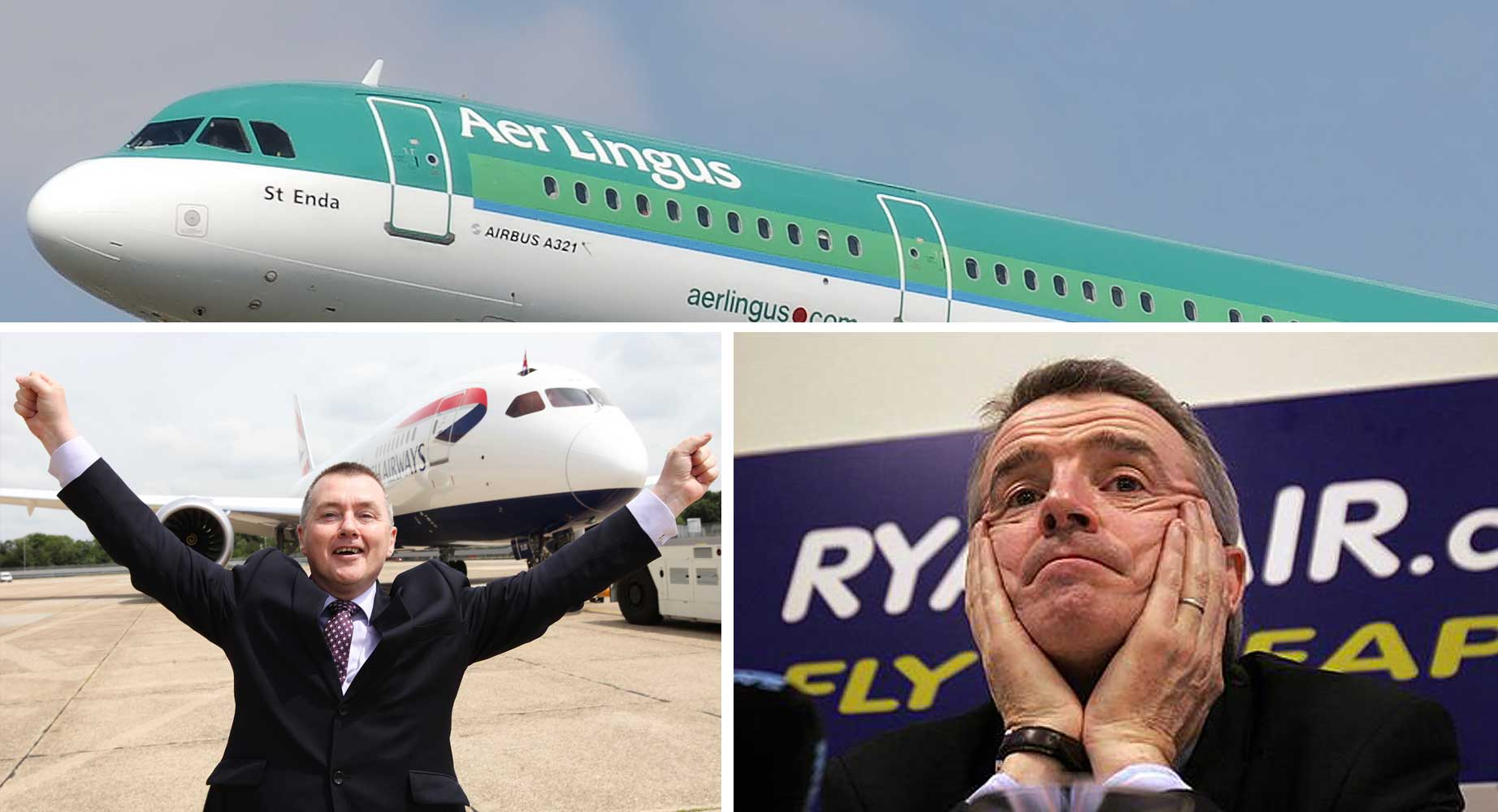 Does the Aer Lingus IAG deal face Ryanair opposition?