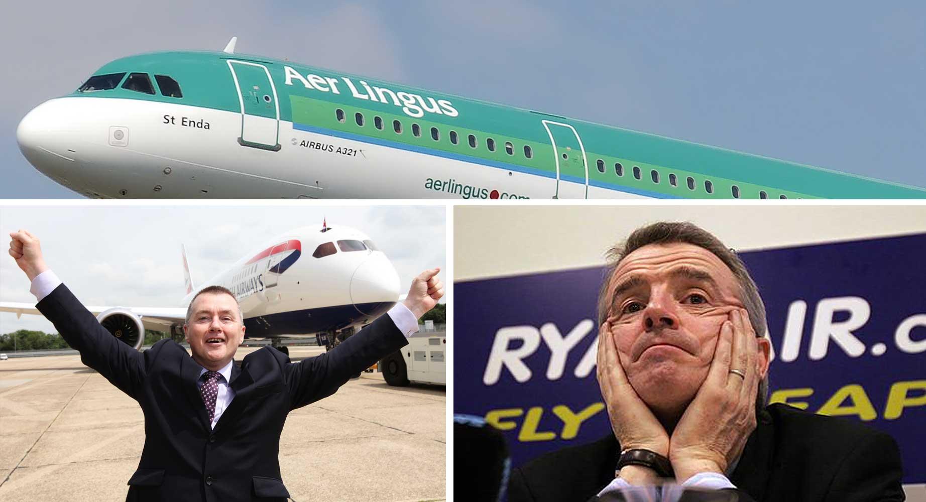Aer Lingus, IAG, Ryanair